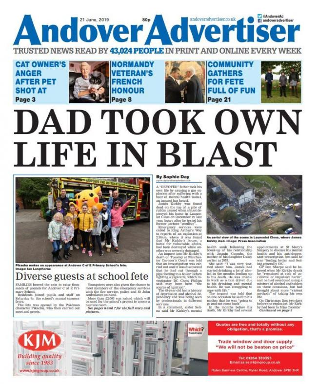 Andover Advertiser 21/06/2019