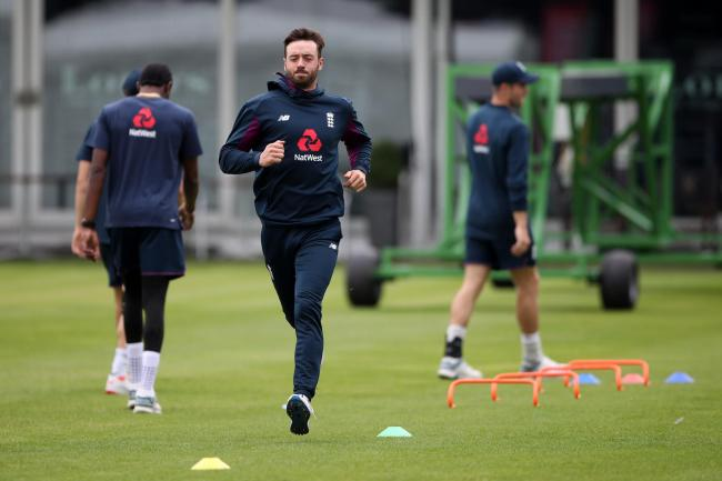 James Vince, pictured, will once again partner Jonny Bairstow in the absence of Jason Roy