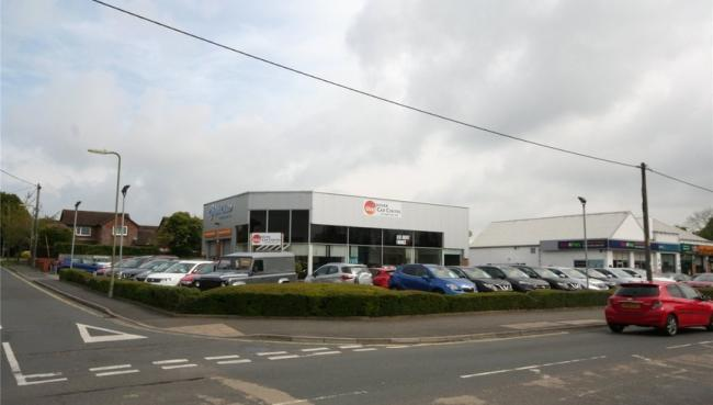 Foray Motor Group has closed in Andover. Image: Woolley and Wallis Commercial estate agents