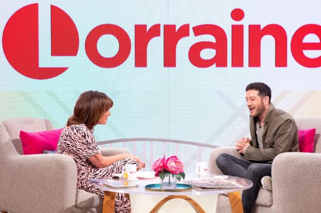 Matt Cardle on Lorraine