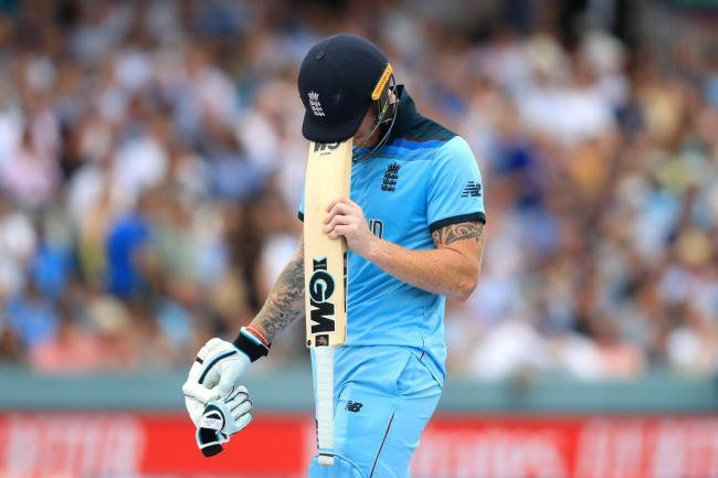 Ben Stokes gave England hope before he was dismissed for 89