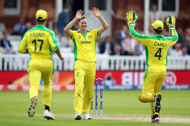 Jason Behrendorff undermined England's chase with five wickets.