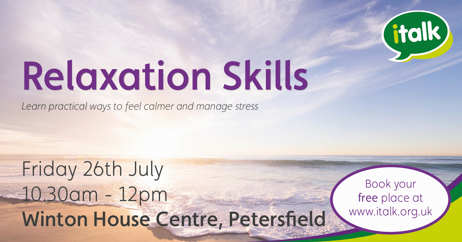 Relaxation Skills for Wellbeing
