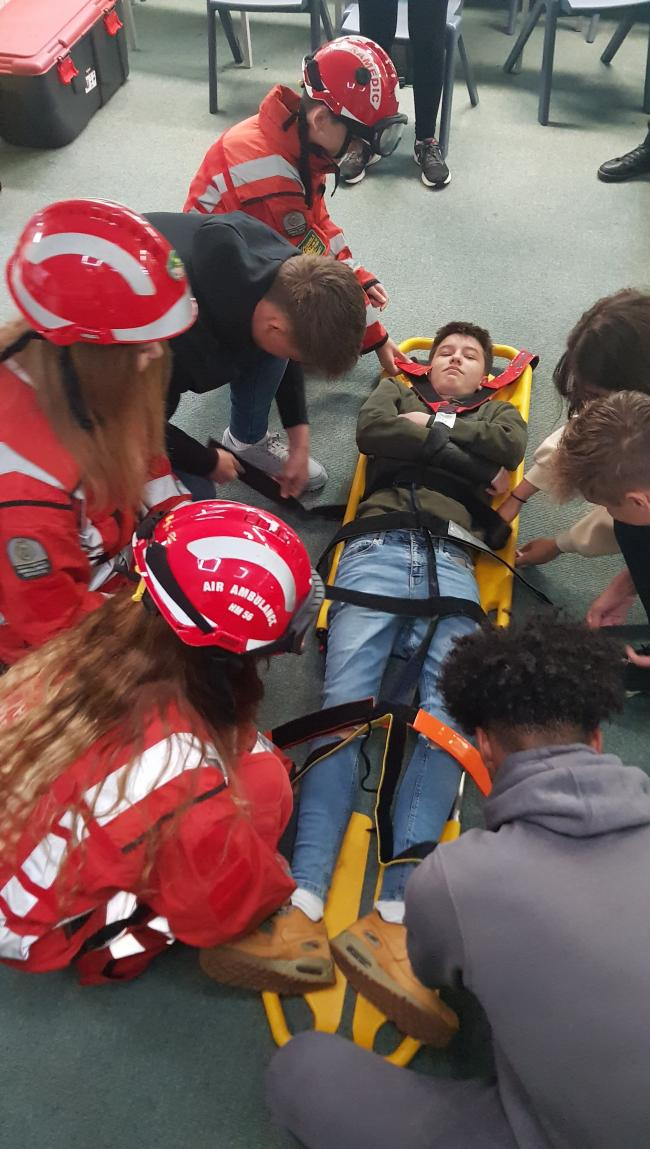 Pupils get involved in the HIOWAA LifeLines challenge