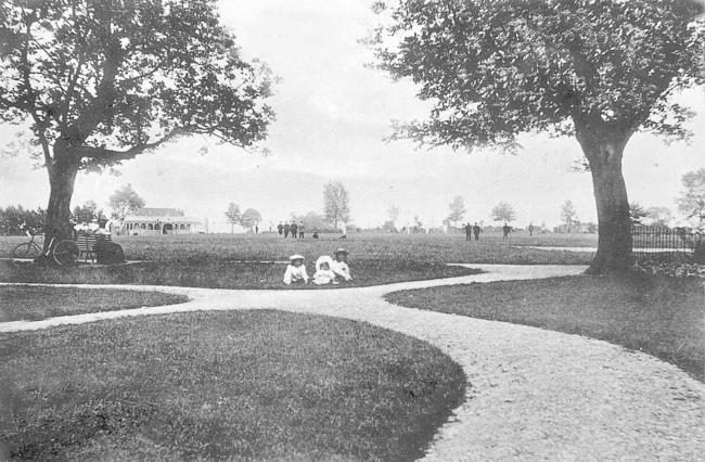Recreation Ground c.early 1900s. Picture from the Derek Spencer collection