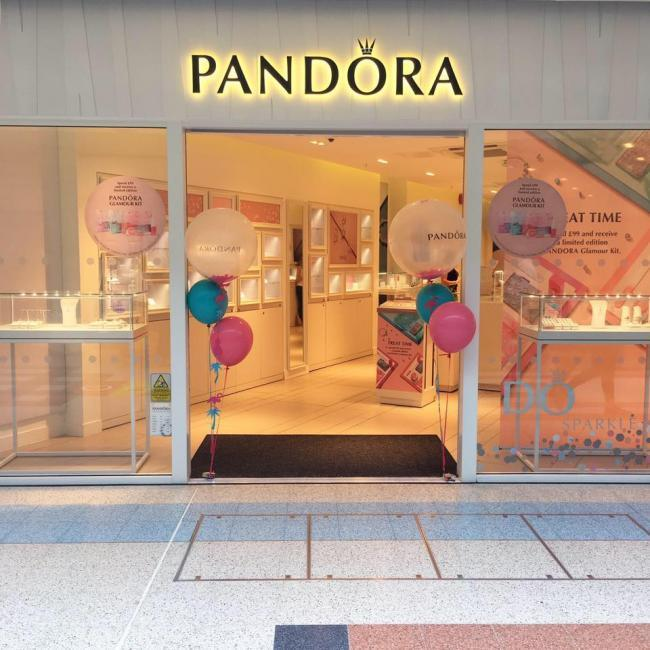 Pandora, in the Chantry Centre, closed its doors on Saturday