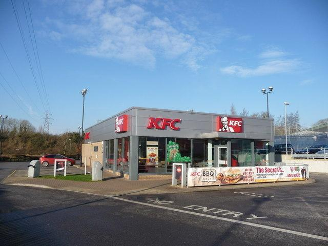 The incident happened outside KFC in Andover