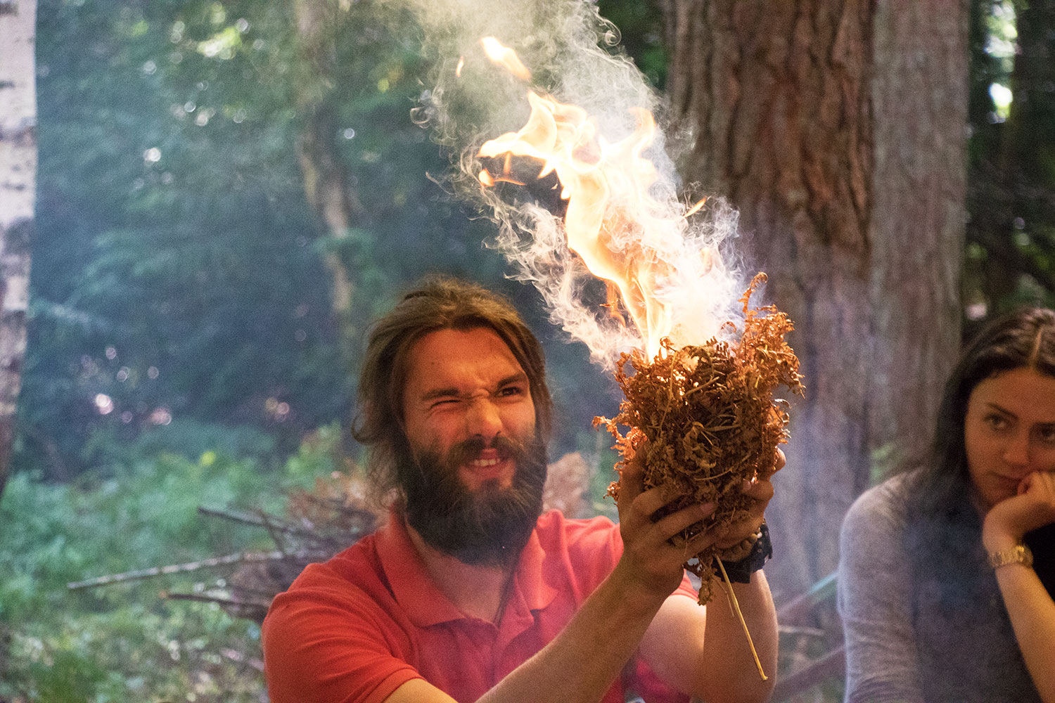 Bushcraft Introduction with New Forest Activities