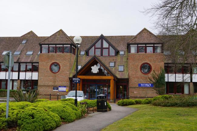 Test Valley Borough Council's offices at Beech Hurst, Andover
