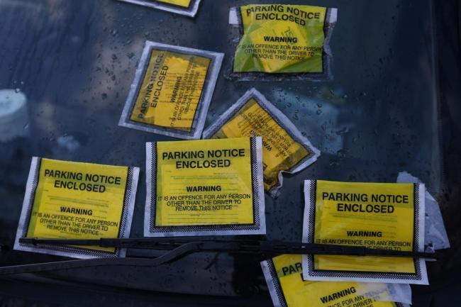 Parking tickets (stock image)