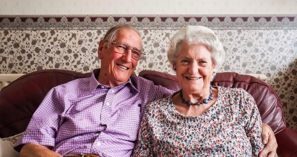 David and Beryl celebrated 60 years of marriage on Thursday