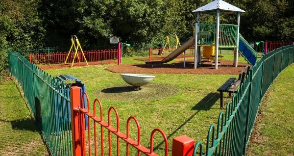 The playpark in Colenzo Drive