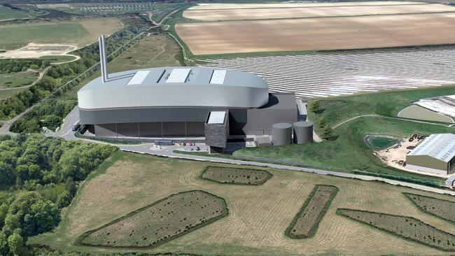 The incinerator is being planned for Barton Stacey