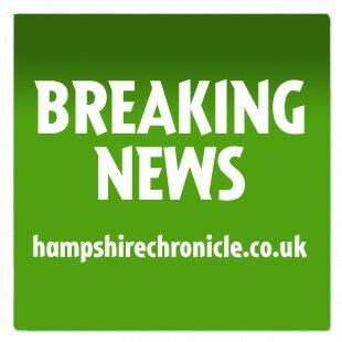 Army vehicle crashes on M3 near Winchester