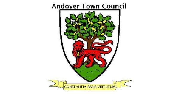Antover Town Council insignia