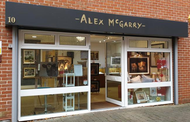 The Alex McGarry Studio and Gallery is now open