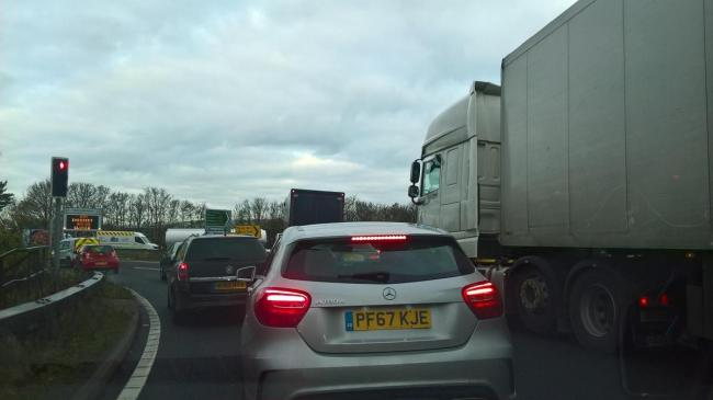 Congestion on the A34