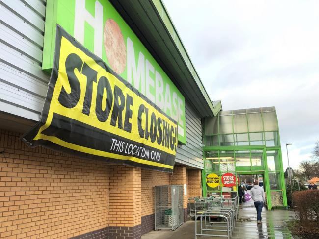 Homebase's Andover store is set to close in the near future