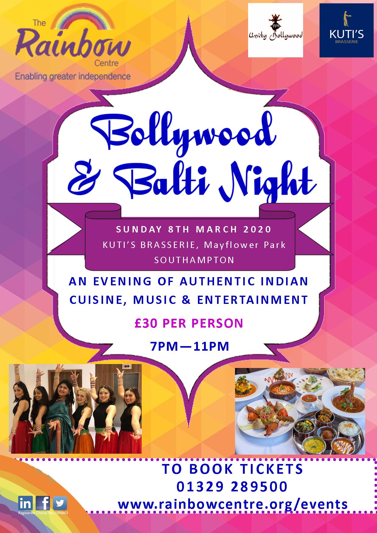 Bollywood & Balti Night