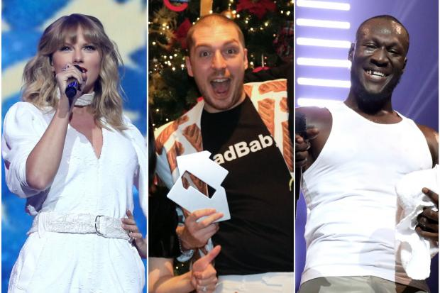 Taylor Swift, LadBaby and Stormzy