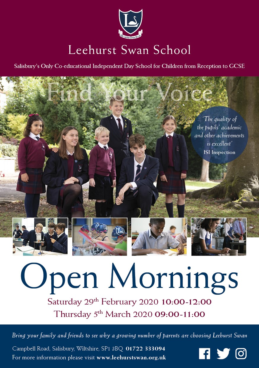 Leehurst Swan Open Morning