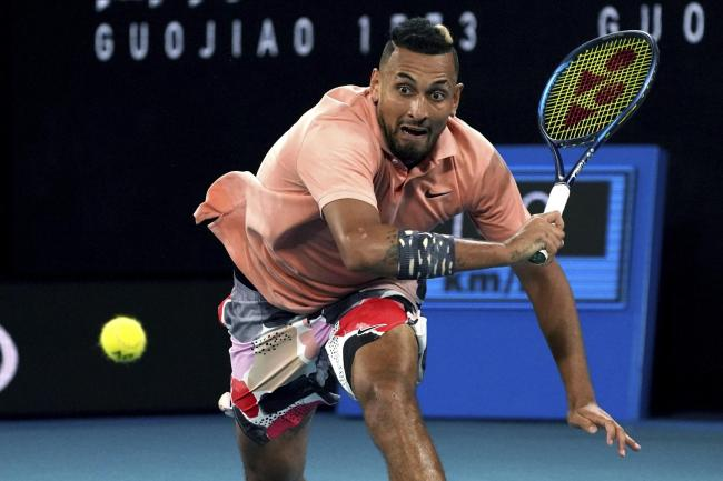 Nick Kyrgios was pushed to the limit against Karen Khachanov