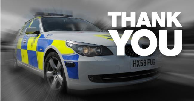 Police have thanked the public for sharing their appeal