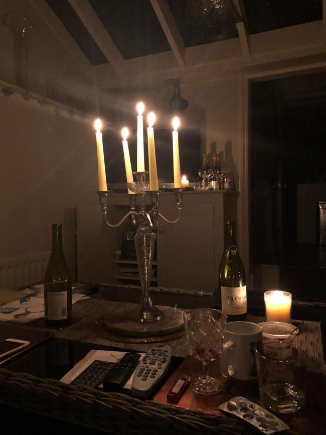 Power out across homes in parts of Andover