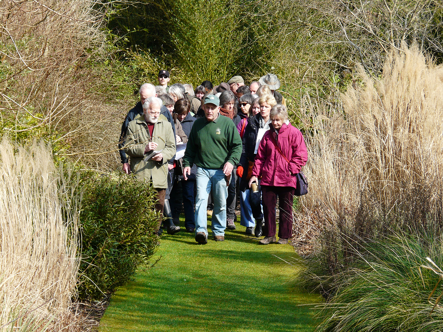 Changing Seasons in the Gardens- walk with Neil Lucas
