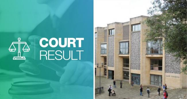 The drug dealer was jailed after appearing at Winchester crown court this week