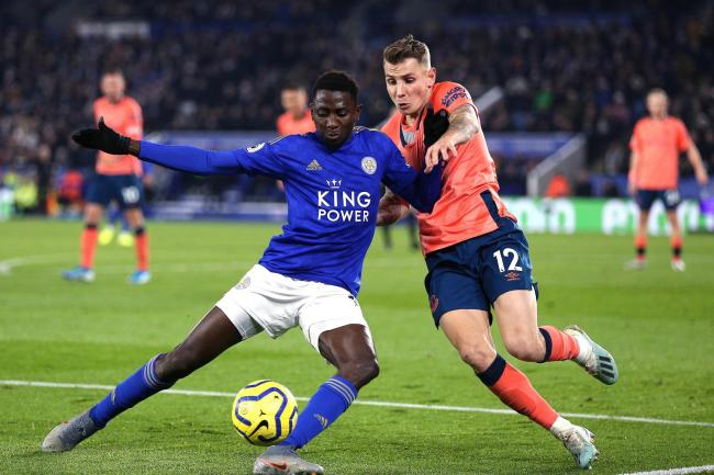 Wilfred Ndidi, left, is still working his way back to full fitness
