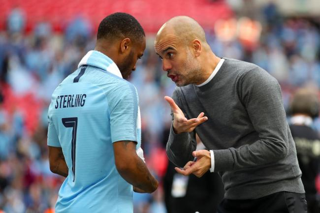Raheem Sterling, left, has suggested a move to Real Madrid is not impossible