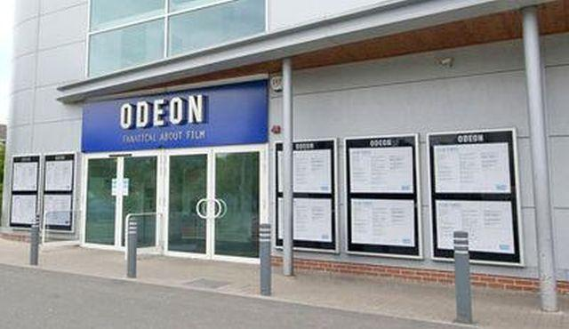 Odeon cinema, in Anton Mill Road, Andover.