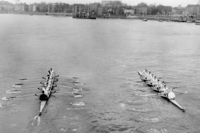 The 1955 Oxford and Cambridge Boat Race