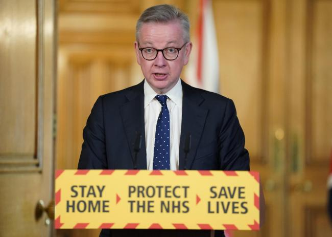 Gove hopes staggered school return will go ahead as planned