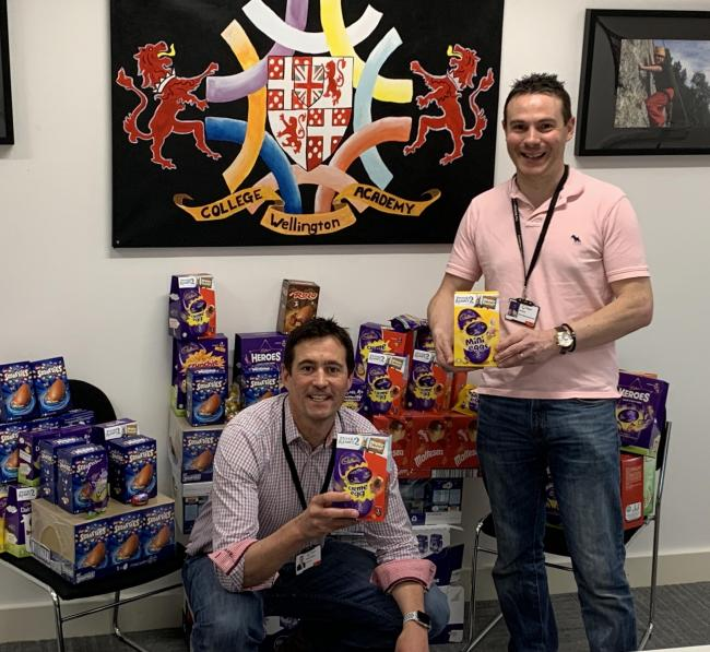 Ludgershall School Prepares To Send Out Hundreds Of Easter Eggs To Students Andover Advertiser