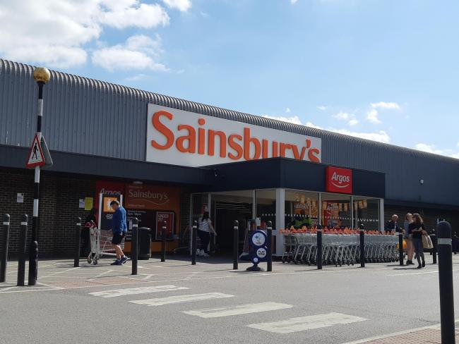 Sainsbury's, in Shepherds Spring Lane