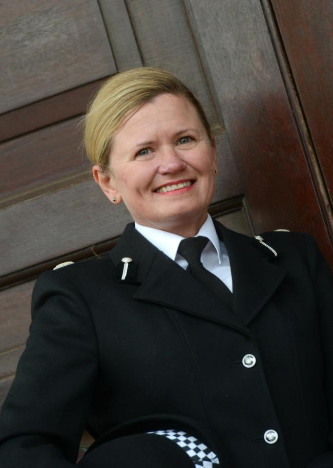 Maggie Blyth has been named as Hampshire Constabulary's new Assistant Chief Constable