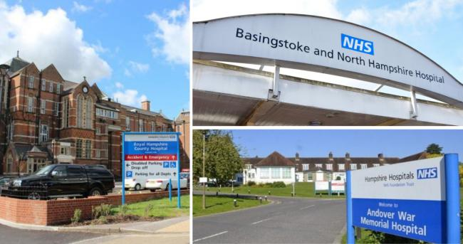More than 20 coronavirus patients are currently in hospital in Hampshire hospitals