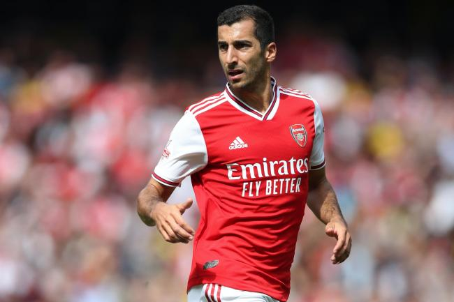 Henrikh Mkhitaryan joined Roma on loan from Arsenal last September (Nick Potts/PA).