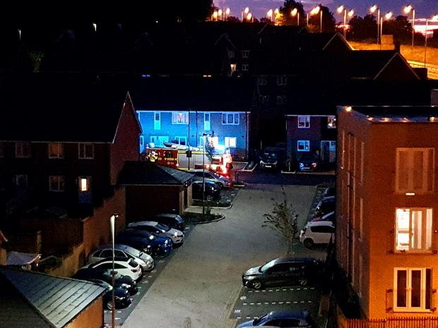 Andover Advertiser: The incident is being treated as arson