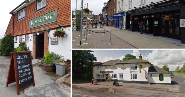 Many pubs in and around Andover reopened their doors to customers this weekend