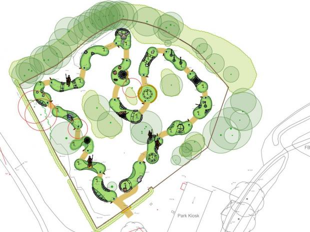 Andover Advertiser: Plans for the 18-hole course have been approved