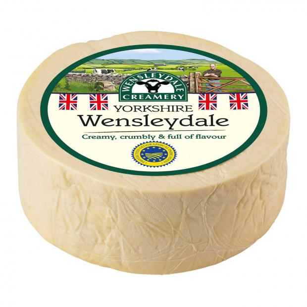 Andover Advertiser: Wensleydale cheese. Picture credit: Wensleydale Creamery