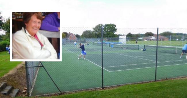 Basingstoke tennis player, Chris, passed away on July 23 from cancer in Austrailia