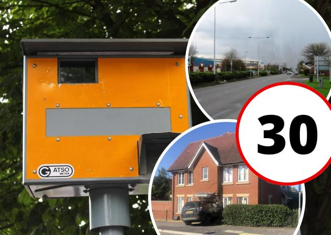 The worst roads for speeding in Andover according to YOU