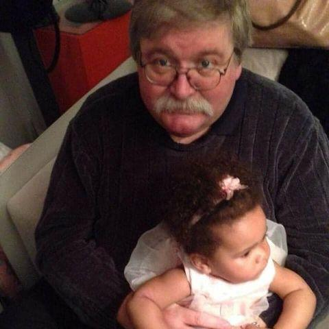 Andover Advertiser: Donald with his granddaughter