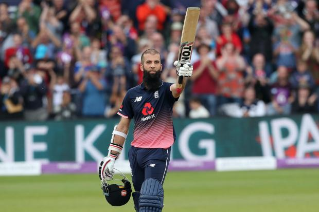 On this day in 2017, Moeen Ali reached England's second-fasted white-ball century