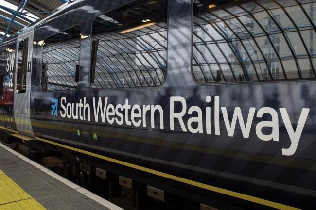 South Western Railway works will affect Andover on Sunday, January 10