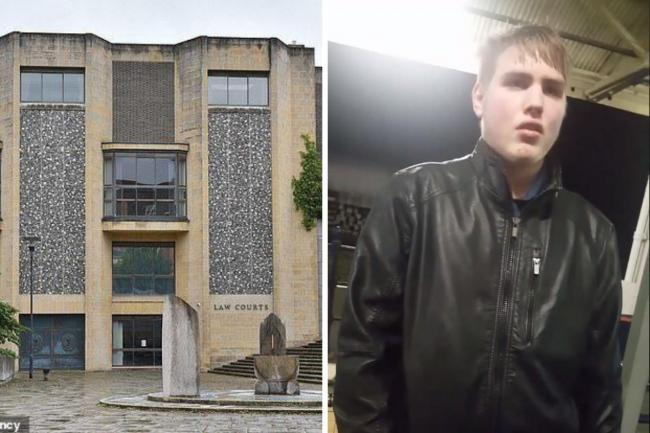 Callum Lee Bates, 21, appeared at Winchester Crown Court this morning (January 8)